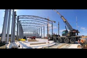Neubau einer Produktionshalle mit Verwaltungsgebäude